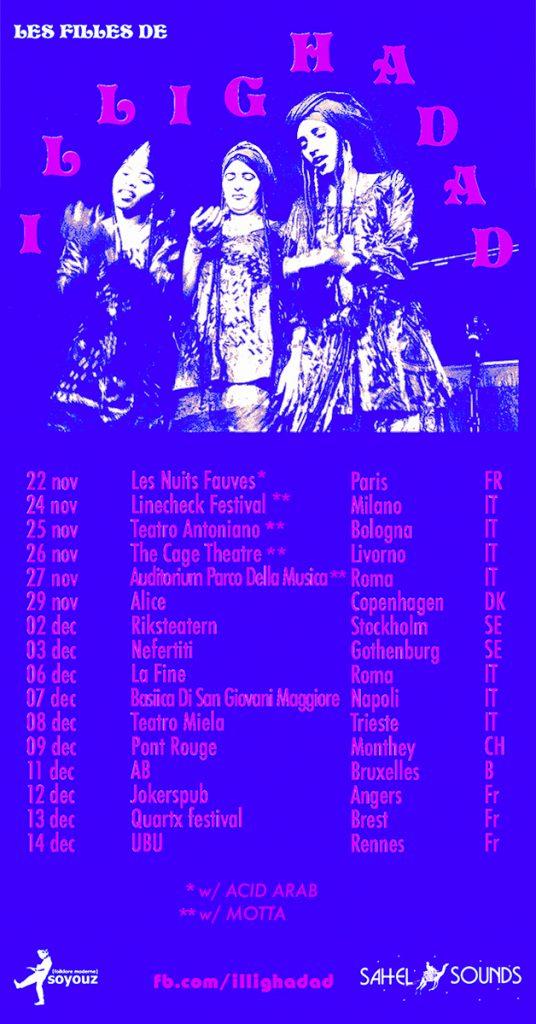 Les Filles de Illighadad Tour 2018